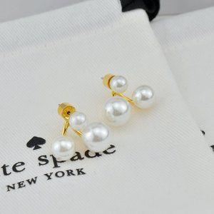 Kate Spade Pearl Stud Earrings